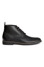 Chukka boots - Black - Men | H&M CN 1